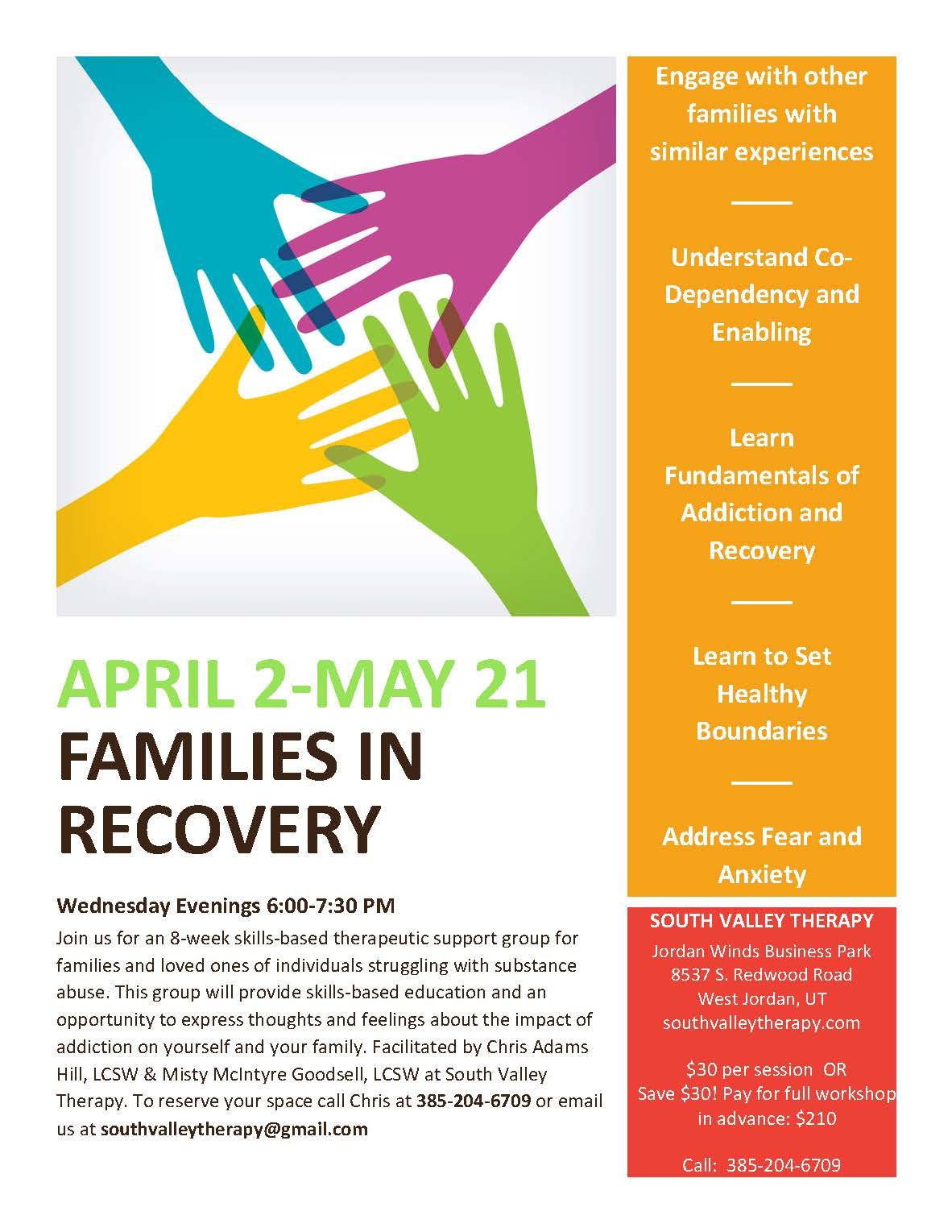 Families Anonymous Archives - South Valley Therapy